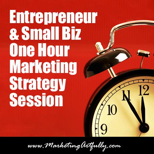 Entrepreneur Small Biz One Hour Strategy Session