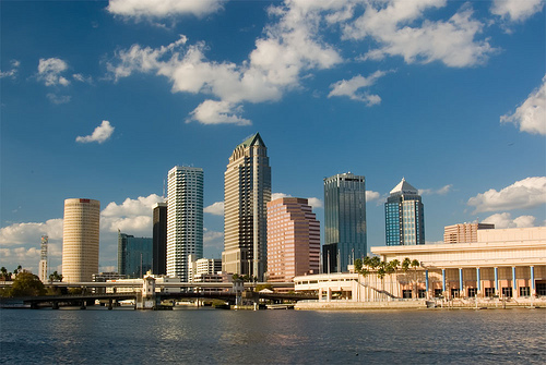 Tampa skyline by John Jacobsen