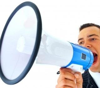 Loudspeaker Salesman