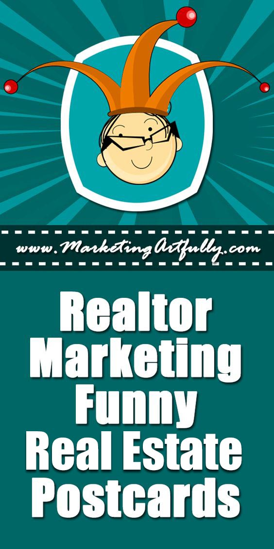Real Estate Marketing Funny Real Estate Agent Postcards