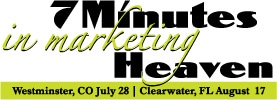 Westminster and Clearwater – 7 Minutes In Marketing Heaven!