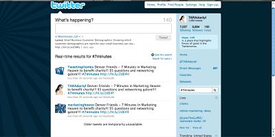 Social Media Marketing Twitter Events