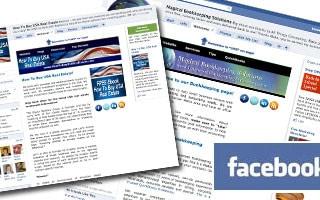 Facebook Custom Business Page Design
