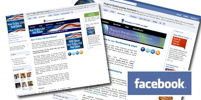 Facebook Custom Business Page Design