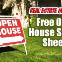 3 Free Real Estate Open House Sign In Sheets!
