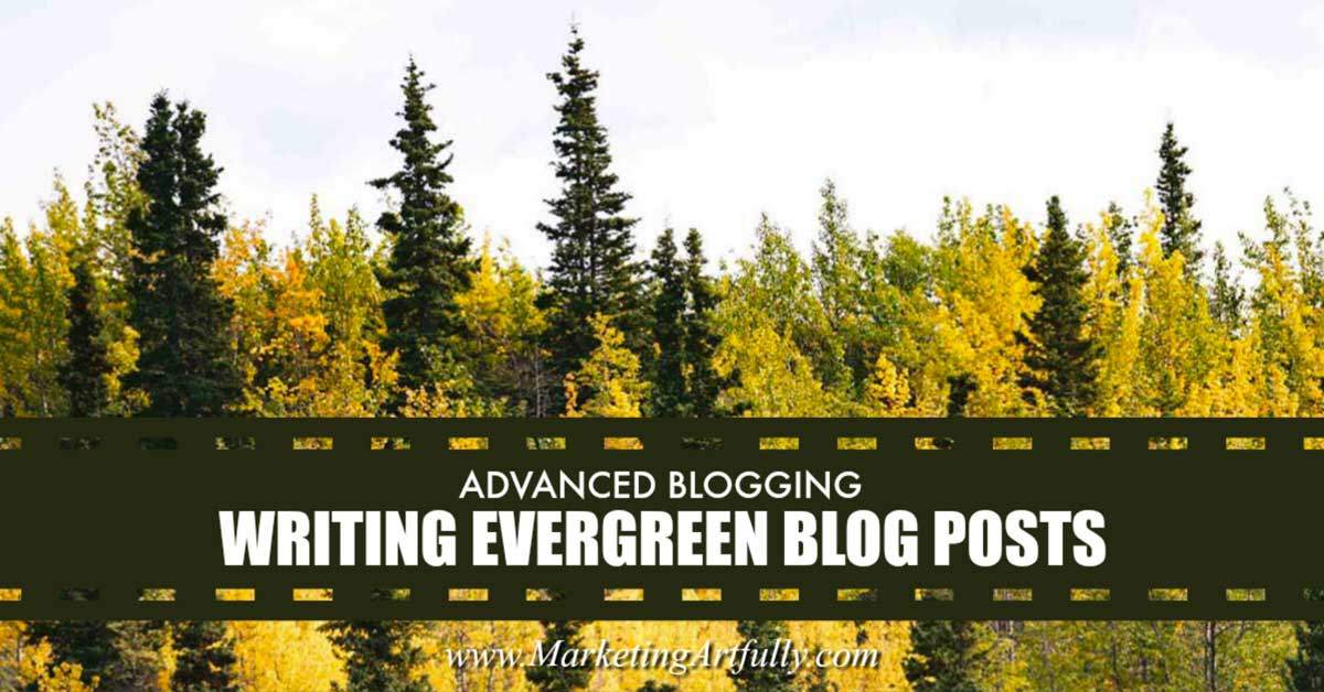 Writing evergreen keyword rich blog posts is a great way to generate traffic for your site. Once you target a keyword phrase, all you have to do is make sure that the technical bits are right and you should rank well for that phrase.