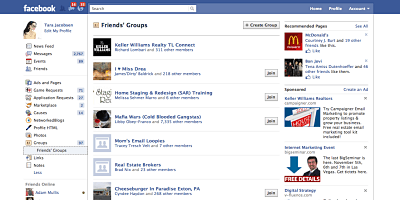 Facebook Groups Business Pages Lists