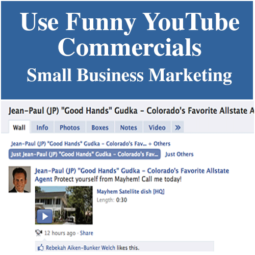 Use funny youtube commercials for small business marketing