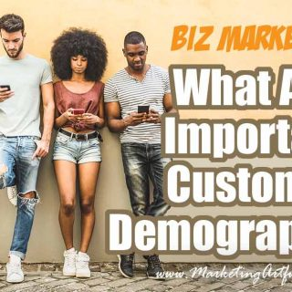 What are important customer demographics? (updated March 2019)