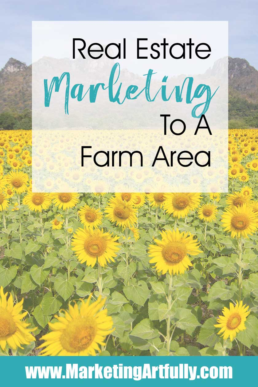 Real estate marketing to a farm. Find out lead generation tips and ideas for creative listing agents. Whether you use social media, postcards or personal branding strategies, farming a geographic area will help you to get more listings and make more money!