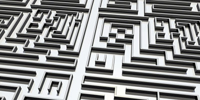 small business marketing maze