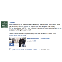 Social Media Marketing LL Bean