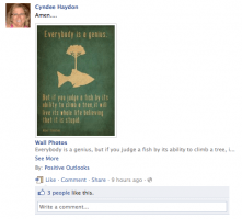 what to post on your facebook profile for business
