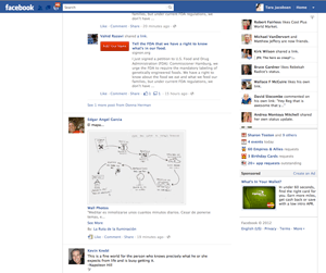Facebook wall - pictures in blog posts