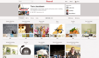 Social Media Marketing - Pinterest