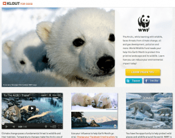 Klout For Good WWF