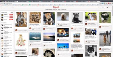 Pinterest for social media