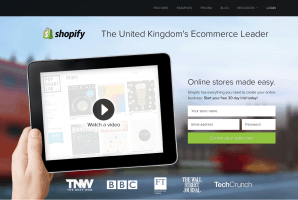 Shopify Online Ecommerce Software