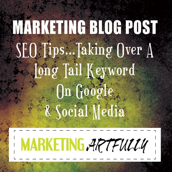 SEO Tips - Taking over a long term keyword on google and social media