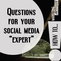 Questions for a social media marketing expert