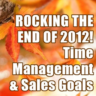 Time Management and Sales Goals