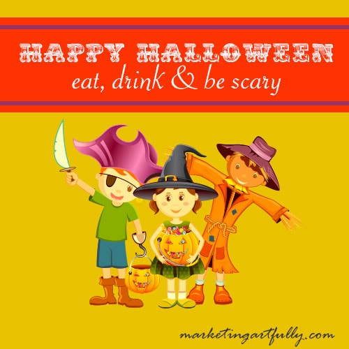 Happy Halloween - Eat, drink and be scary