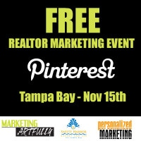 Free Realtor Marketing Event Tampa Bay - Pinterest