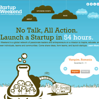 Startup Weekend - Entrepreneur Marketing