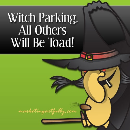 Witch parking - all others toad