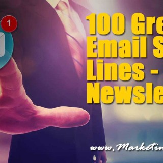 100 Great Email Subject Lines – Email Newsletters