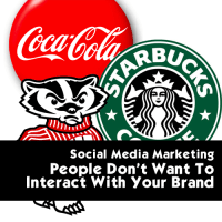 Social Media Marketing - Interacting with brand