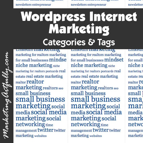 Wordpress Internet Marketing - Categories and Tabs