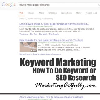How To Do Keyword or SEO Research | Keyword Marketing