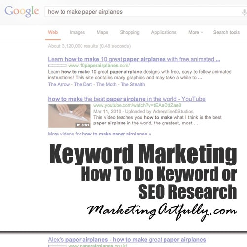 How To Do Keyword or SEO Research |
