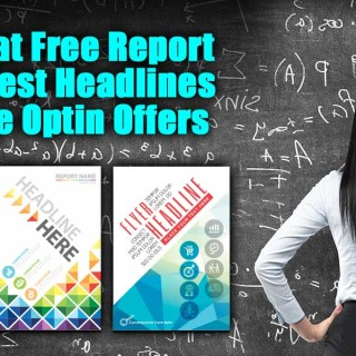 100 Great Free Report Titles, Best Headlines and Free Optin Offers | I have scoured the web for the best great headlines, free report titles and free optin offer offers! Having looked at HUNDREDS of sites to write this post, I have a couple of observations… First as I was looking for great headlines in areas NOT of interest to me, I can tell you unilaterally, no matter how great your offer is, if they don't NEED what you are offering, they won't ever sign up, buy or take the next step.