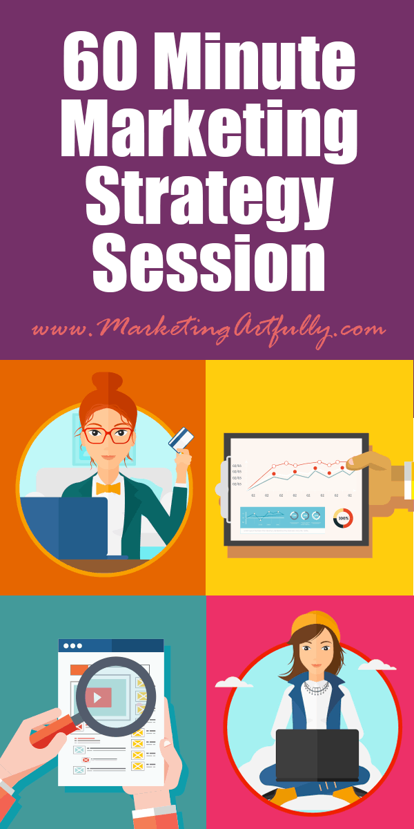 60 Minute Marketing Strategy Session - This is a marketing strategy session for Rebel Entrepreneurs, Realtors, Etsy Sellers or Writers who want to increase business sales and business satisfaction by creating a strategic marketing plan.