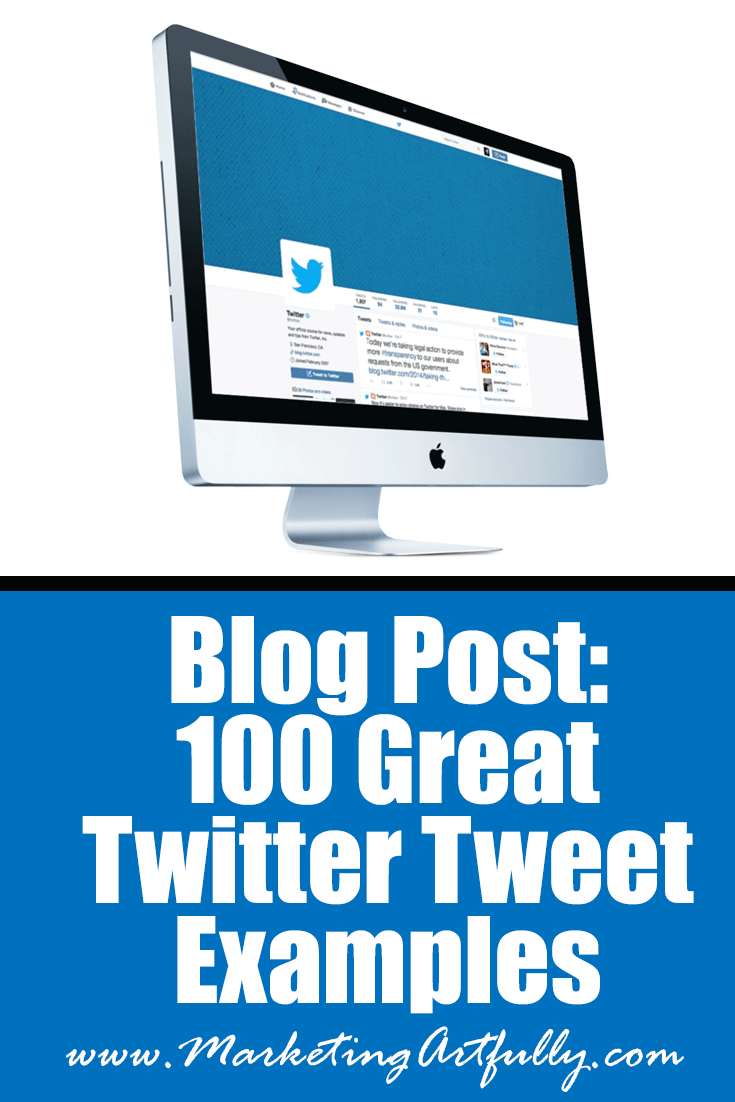 100 Great Twitter Tweet Examples | Good Tweets