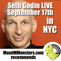 Seth Godin - Sept 17th NYC