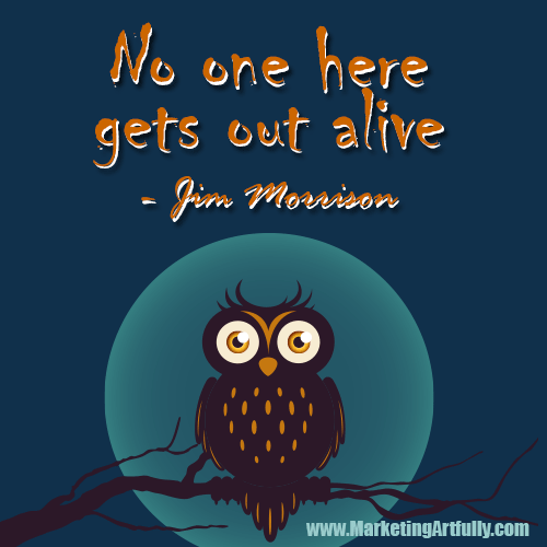 No One Here Gets Out Alive Jim Morrison