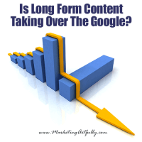 Is Long Form Content Taking Over Google?
