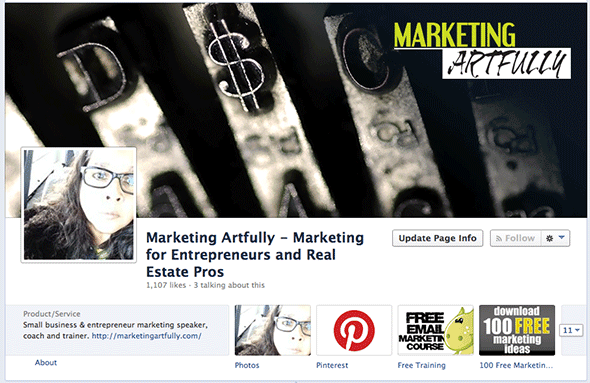 Marketing Artfully - New Facebook Timeline