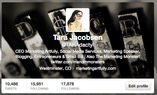 Taradactyl Twitter Profile
