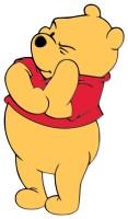 thinking pooh bear