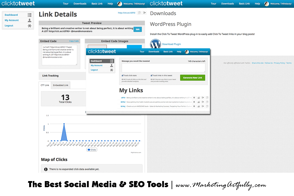 Click to tweet social media tools