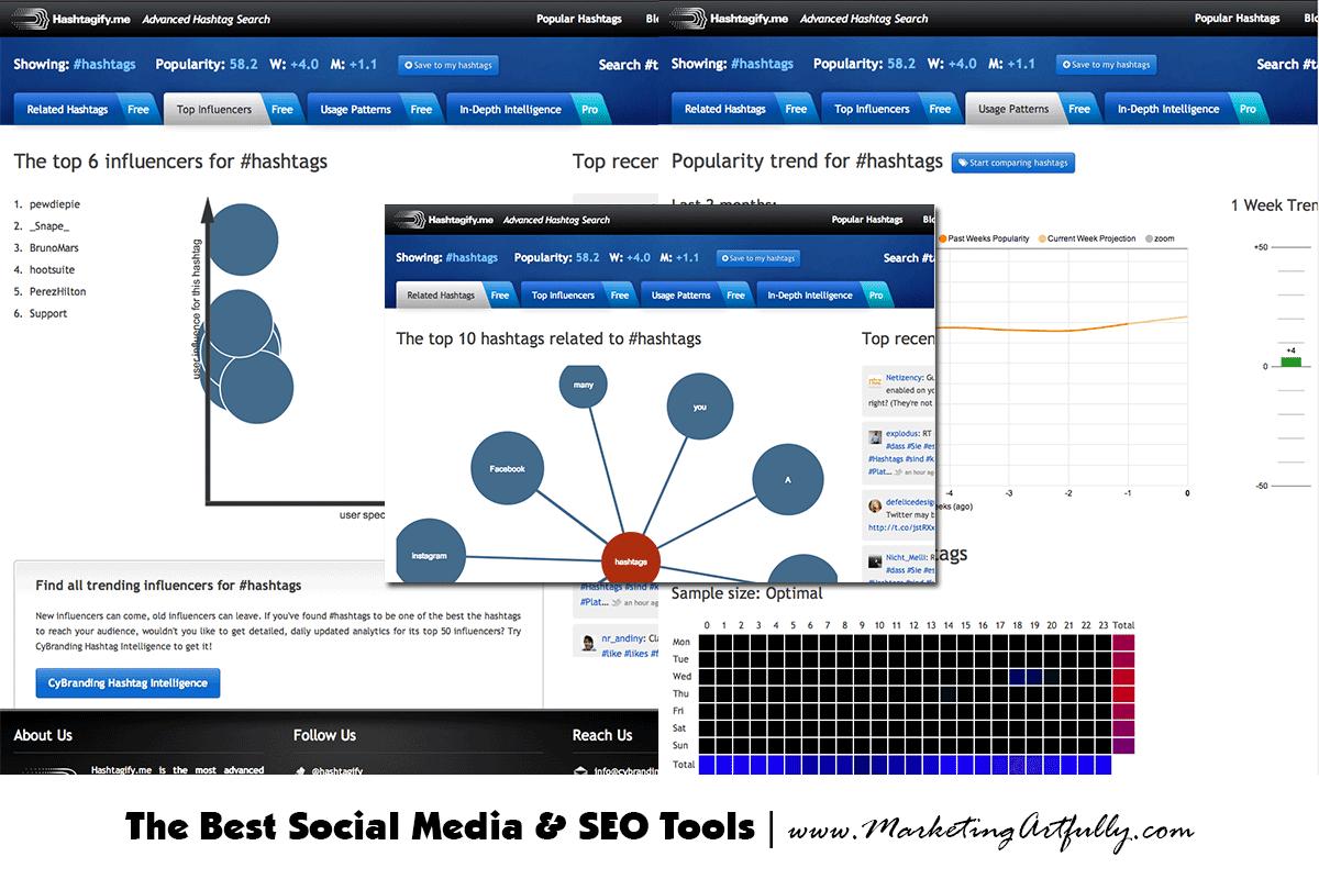 Hashtagify Twitter Tools