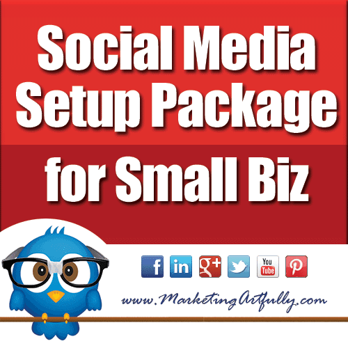 Social Media Setup Package For Small Biz