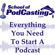 School of Podcasting Logo
