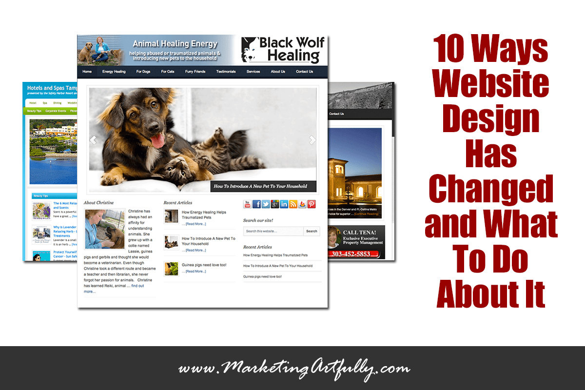 10 Ways Website Design Has Changed and What To Do About It