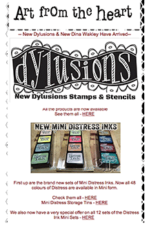 Dyan Reaveley Promoting Tim Holtz