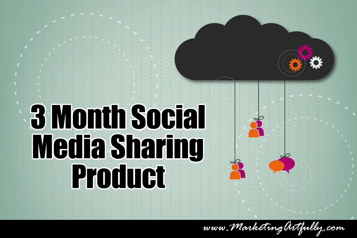 Three Month Social Media Sharing Product